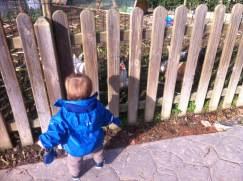 Huerto ecológico parque de los sentidos Noain
